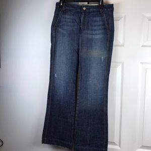 Meli Melo Jeans full leg sz 27 fit like 28/29